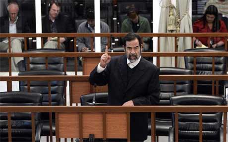 Saddam Hussein må belage seg på mer venting. (Arkivfoto: Scanpix)
