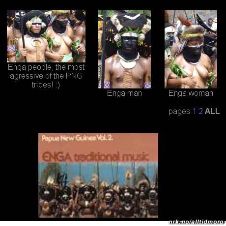 """Mer nytt fra Papua Ny Guinea. Når dette jeger-folket synger """"Drep bønda!"""" mener de det nok bokstavelig."""
