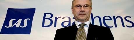 Petter Jansen har ledet SAS Braathens siden 2004. (Arkivfoto: Scanpix)