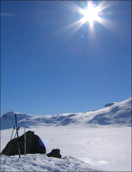 Før den globale oppvarmingen var det snø og flott på fjellet. Se hvor ille det har blitt nå. (Preben Østen) Foto: Scanpix