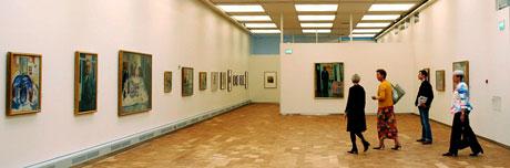 Maleriene på Munch-muséet er sikret bedre etter ombyggingen. Arkivfoto: Lars Håkon Mosvold, Scanpix