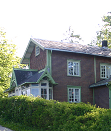Sponhuset er et yndet turmål for de som går Ladestien i Trondheim.