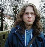 Sondre Båtstrand. Foto: Grønn Ungdom