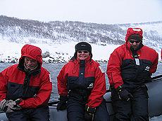 Forventningsfulle turdeltakere. Foto Liv Rønneberg/NRK.