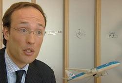 Anko van der Werff er markedssjef i KLM. Foto: NRK