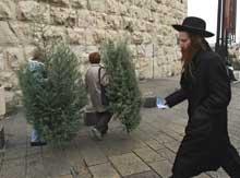 Ultraortodokse jøder utgjør ca 10% av Jerusalems befolkning. (Ill.foto: AFP)