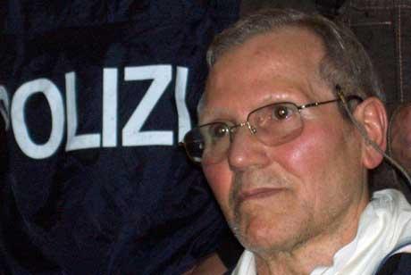 Bernardo Provenzano vart arrestert på Sicilia like før påske. (Scanpix/Reuters-foto)