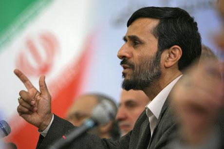 Irans president Mahmoud Ahmadinejad nekter å stoppe landets atomprogram. Foto: AFP/FARS NEWS AGENCY/STR.