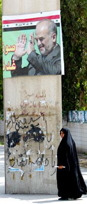 Statsminister Ibrahim Al Jaafari har forgjeves forsøkt å danne en ny regjering etter valgene i januar.