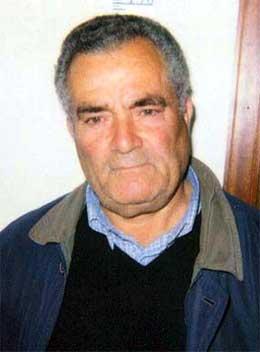 Bernardo Riina var nestleiar i ein antimafia-organisasjon i Corleone. No er han arrestert for samarbeid med mafiaen. (Foto: Italiensk politi/AP/Scanpix)