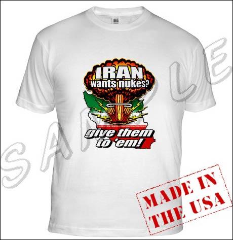 """""""Jasså, Iran vil ha atomvåpen? La oss gi dem det!"""""""
