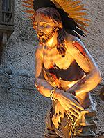 Jesu vei til korset er vandringens tema. Foto Andreas Toft.