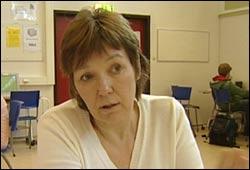 Rektor på Tokerud Ungdomsskole, Ann Katrin Schille Foto: NRK, Puls