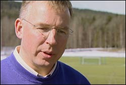 Roald Bahr, leder for Nasjonalt Råd for Fysisk Aktivitet. Foto: NRK, Puls
