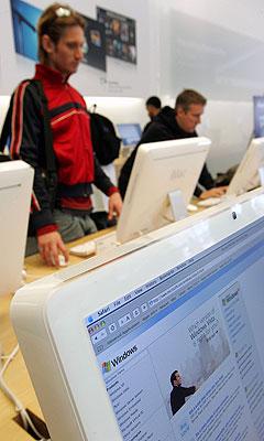 Vi nordmenn diskrimineres i forhold til andre folkeslag når vi kjøper musikk på nettet. Illustrasjonsfoto: AFP Photo / Scanpix.