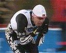 Tor Arne Hetland med en stav i NM-stafetten 2001