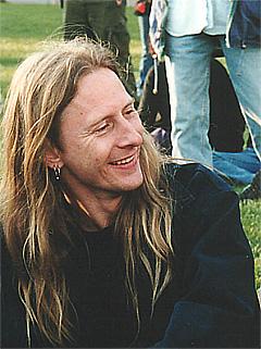 Gitarist i Alice In Chains, Jerry Cantrell, er en av medlemmene i superbandet. Foto: Scanpix.