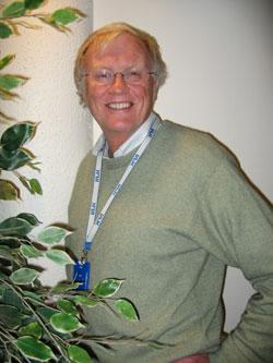 Programleder i Norge Rundt Thor Øistein Eriksen. Foto: Tom Erik Sørensen