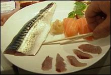 Moderne makrell: sushi eller sashimi