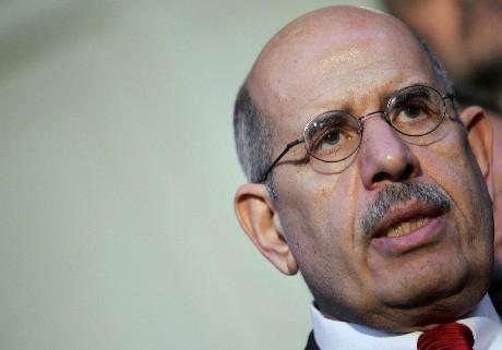 Mohamed ElBaradei konstaterer at Iran ikke samarbeider med FN-organet. (Foto: Behrouz Mehri/AFP/Scanpix)