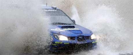 Petter Solberg fort, men ikke fort nok i rally Argentina 2006, Foto: REUTERS/Marcos Brindicci