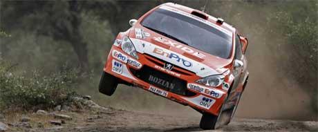 Hennig Solberg på to hjul gjennom rally Argentina 2006, Tony Welam / SCANPIX