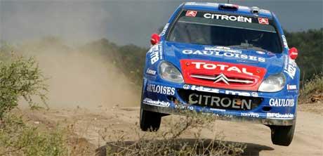 Sebastien Loeb vant også rally Argentina 2006, Foto: AP Photo/Armando Rivas