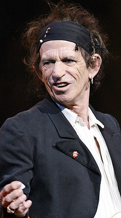 Må Keith Richards opereres? 6. juni kommer Rolling Stones til Bergen. Foto: AFP Photo / Scanpix.