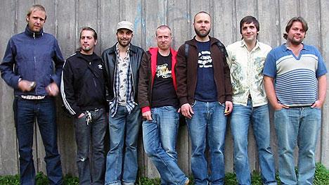 Det svenske reggea-bandet Ital Skurk imponerer. Foto: Promo.
