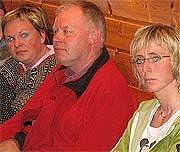 Kvinnene ledet an i protesten. Her Åse Ingebjørg Homme (t.v.) og Frøydis Unneland (t.h.) (Foto: Svein A. Sundsdal)