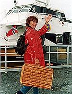 Brita har ønsket God tur i NRK P1 i flere år.