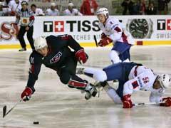 Johnny Nilsen i duell med USAs Martin Reasoner. (Foto: Reuters/Scanpix)