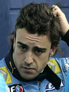 Fernando Alonso var litt skeptisk før kvalifiseringen. (Foto: AP/Scanpix)