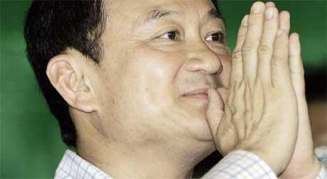 Thaksin Shinawatra må stille opp i et nytt valg, har grunnlovsdomstolen bestem. (Arkivfoto: Apichart Weerawong/ AP/ Scanpix)