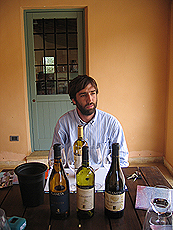 Marcello - vineksperten. Foto Andreas Toft.