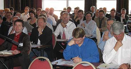 En stor forsamling på Kjevik-konferansen (Foto: Svein Sundsdal)