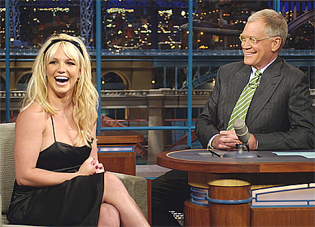Britney Spears forteller David Letterman at hun og Kevin Federline venter sitt 2. barn. Foto: AP / Scanpix.