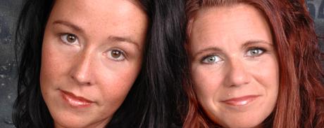 Petra Rydgren og Anna Lundberg