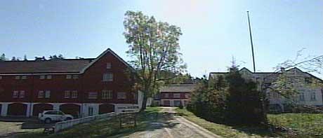 Hesthagen gård hvor Tjøntveit nektes adgang (foto: Geir I. Egeland)