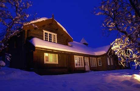 Skiskytter Ole Einar Bjørndalen kan måtte betale eiendomsskatt for hytta si på Beitostølen. Foto: Tor Richardsen, Scanpix.