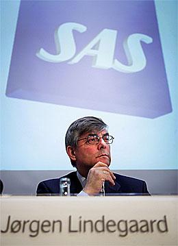 SAS-konsernsjef Jørgen Lindegaard ville fjerne Petter Jansen, ifølge VG.(Arkivfoto: Scanpix)