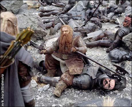 Kostymevalget fikk alvorlige konsekvenser for Lordi på den store Midgardsturneen. (Innsendt av Øistein Anmarkrud)