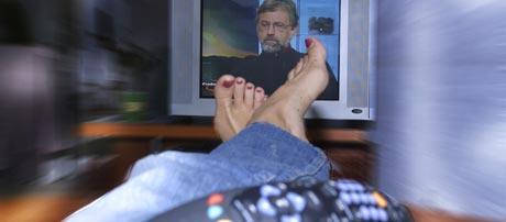 De små TV-kanalene vil lokke til seg kvinnene mens fotball-VM på går. Foto: Scanpix