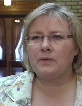 Erna Solberg føler seg ført bak lyset av UDI-ledelsen. (Foto: NRK)