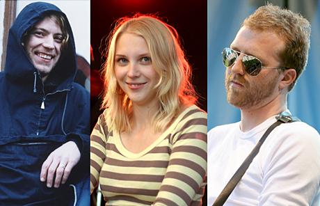 David Chelsom Vogt og Real Ones t v, Marthe Valle og Thom Hell representerer Norge i en norsk-dansk konsertturne i starten av juni. (Foto: NRK)