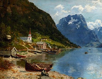 Niels Bjørnsen Møller: Kirkested i Vestlandsfjord