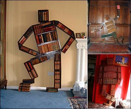 Liker du å lese, men har venner som ikke synes det er tøft med bøker? Da kan du investere i disse dekorative bokhyllene.