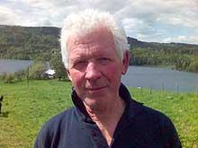 Leder av Asker Jeger- og Fiskerforening, Jan Erik Fossnes. (Foto: Thor Henry Bjor, NRK)