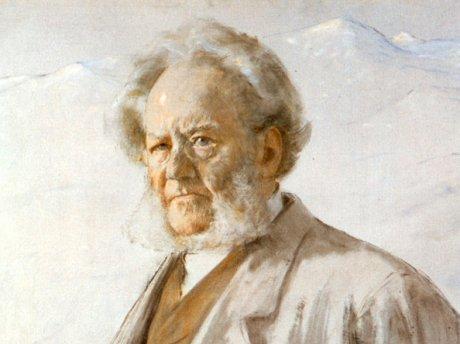 Erik Werenskiolds Ibsen 1895