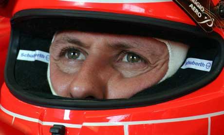 Michael Schumacher (Foto: Reuters/Scanpix)